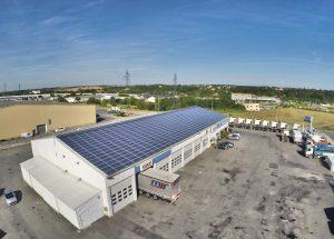 Bâtiment de Toiture photovoltaïque