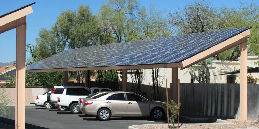 arking à panneau solaire, quel avenir en France