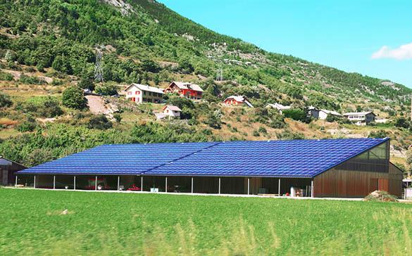 Une manière de combiner son activité avec la production d'énergie solaire