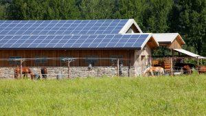 Centre équestre solaire photovoltaïque