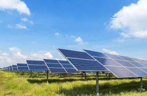 ferme solaire au sol