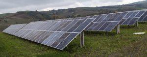 Installation de panneaux photovoltaïque sur des sols pollués