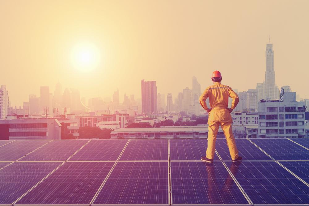 Les différentes étapes pour convertir l'énergie solaire en énergie électrique