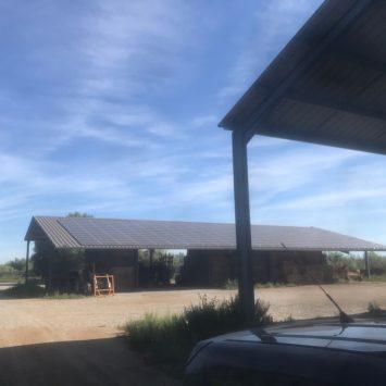 Colibri Solar hangar Voltaïque