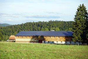 écurie solaire photovoltaïque