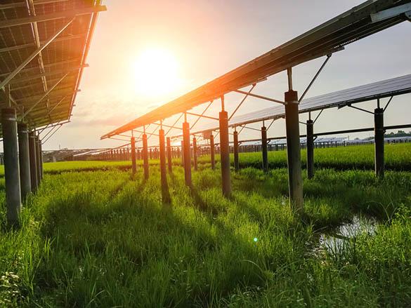 Rendement de la production d'électricité photovoltaïque