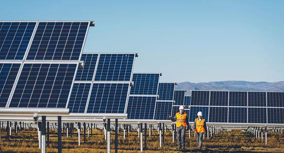 Centrales solaires