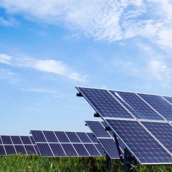 agriculture et panneaux solaires