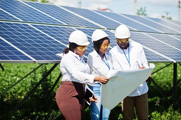 La production d'énergie photovoltaïque aujourd'hui
