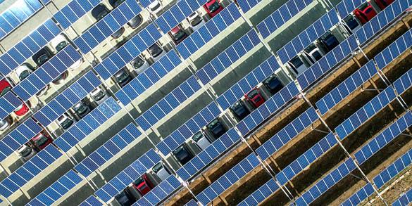 Les étapes de mise en place d'une ombrière photovoltaïque