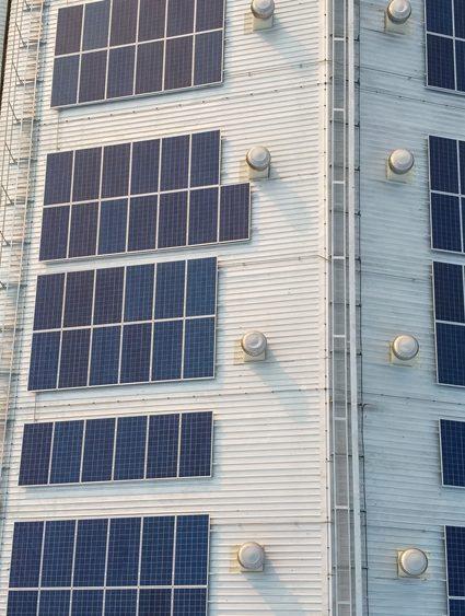 Amélioration ergonomique par l'utilisation de photovoltaïque bâtiment industriel