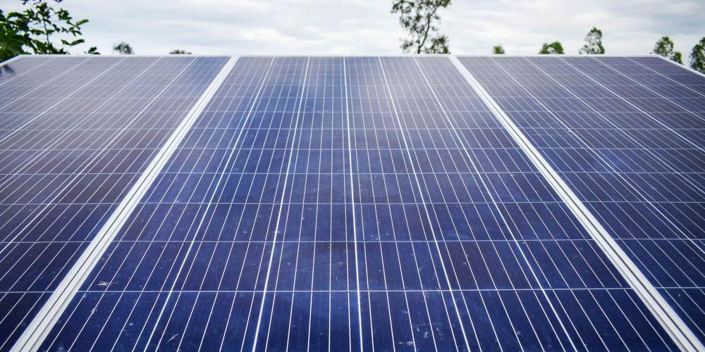 Fonctionnement d'un panneau solaire