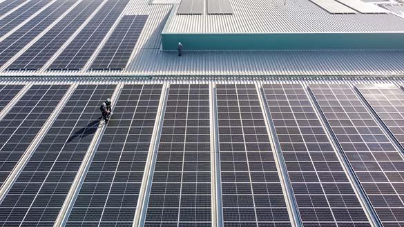 Installations photovoltaïques sur toitures