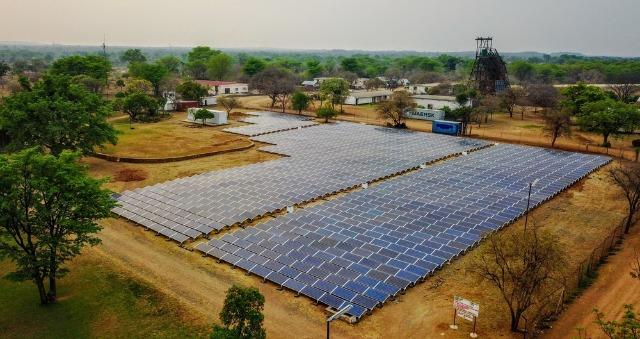 Centrale solaire sol
