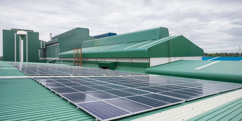 batiment industriel photovoltaïque