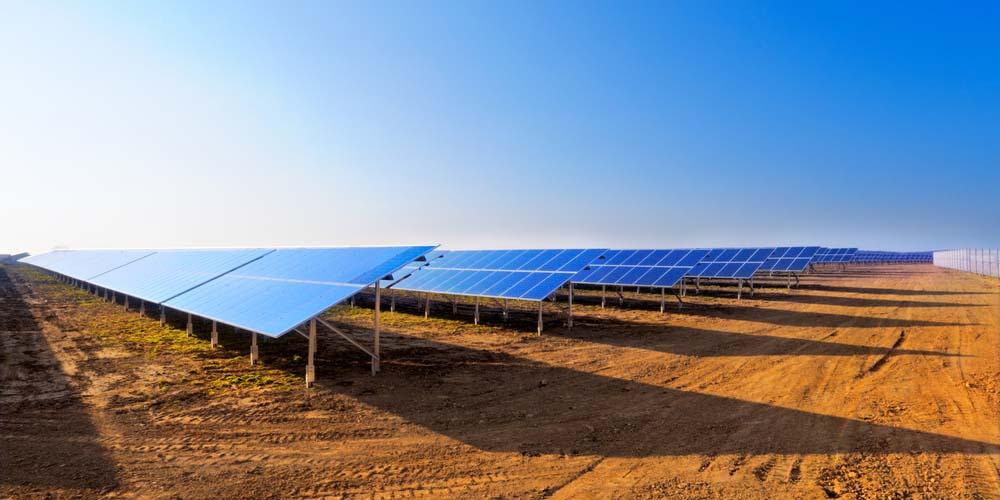 Champ solaire sur friches industrielles