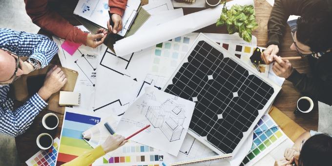 projet solaire