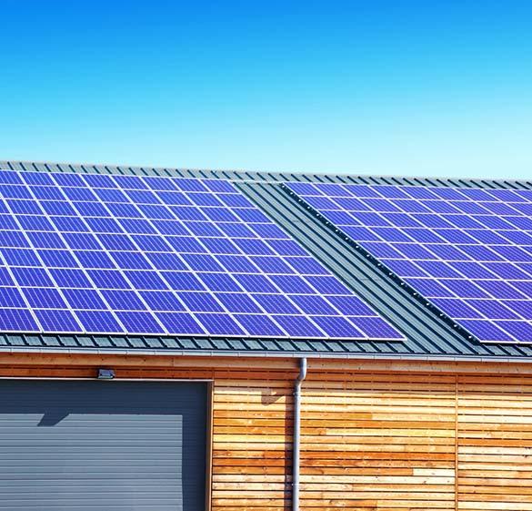 toit hangar photovoltaïque