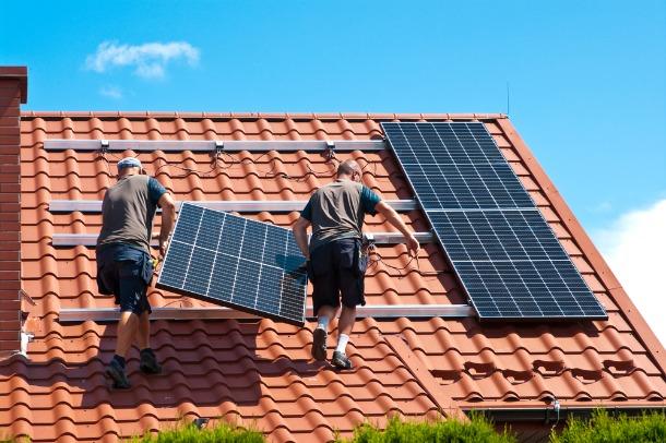 toiture industrielle solaire