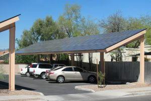 ombrière photovoltaïque